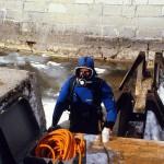Scott Diving at Confed Basin
